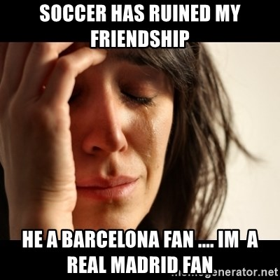Real Madrid Fans After Barcelona Wins Crying Tobey Maguire1