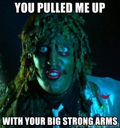 You Pulled Me Up With Your Big Strong Arms Old Gregg Meme