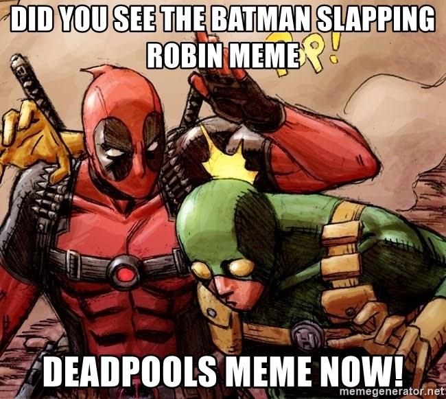 25 Best Memes About Batman Slapping Robin Meme Generator
