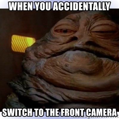 The Front Camera Clean Memes
