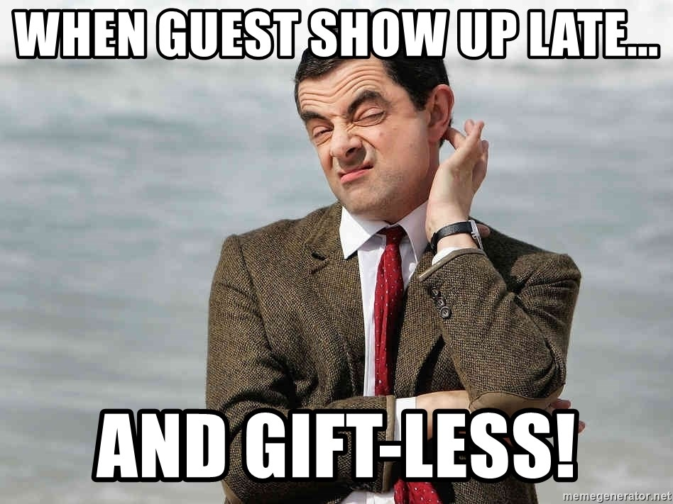 Gifts Too Late Baby By Alnelextreme Meme Center
