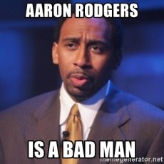 Image result for stephen a smith aaron rodgers