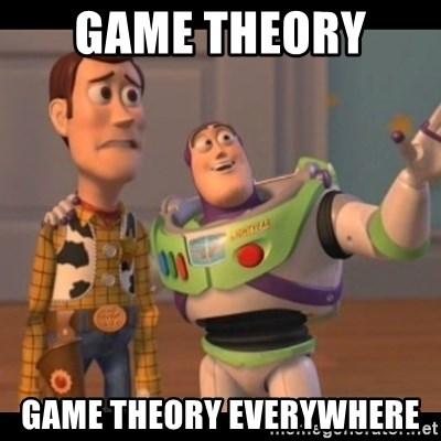 Game Theory Game Theory Everywhere X X Everywhere Meme Generator