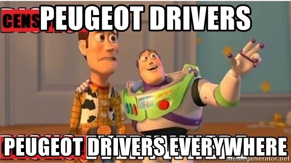 Peugeot Drivers Peugeot Drivers Everywhere Toy Story Everywhere