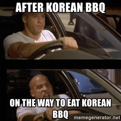 Korean Bbq Make A Meme