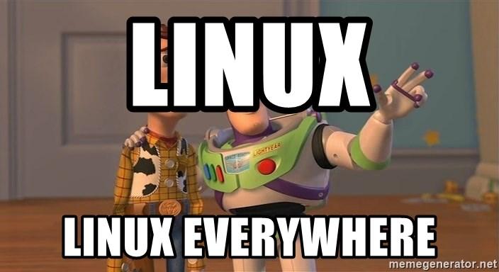linux everywhere