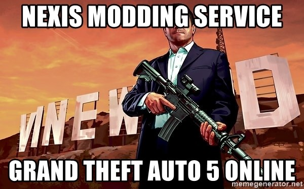 Nexis Modding Service Grand Theft Auto 5 Online Michael Gta V