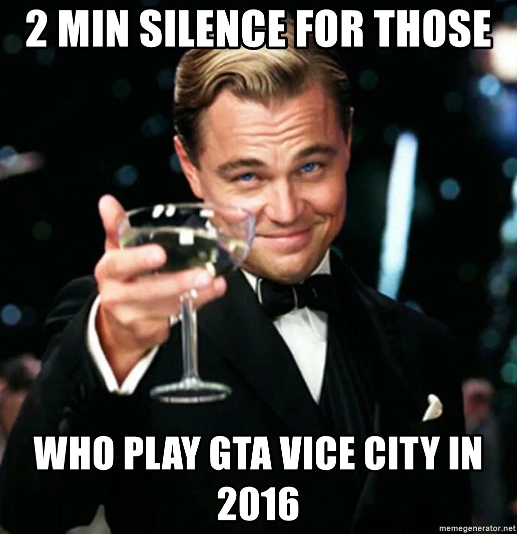Recently Finished Vice City Had To Make A Meme Really Enjoyed