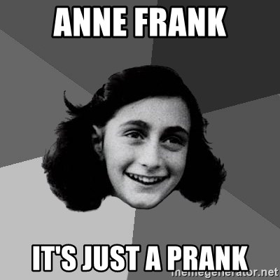 Ann Frank Is On Fire Pewdiepiesubmissions