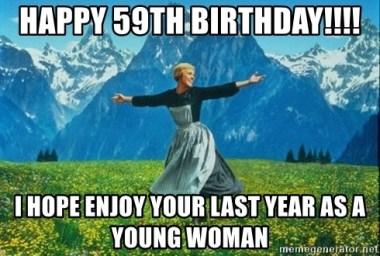 Happy 59th Birthday Meme