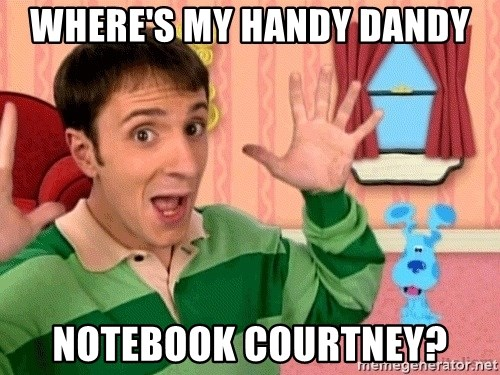 25 Best Memes About Handy Dandy Notebook Handy Dandy