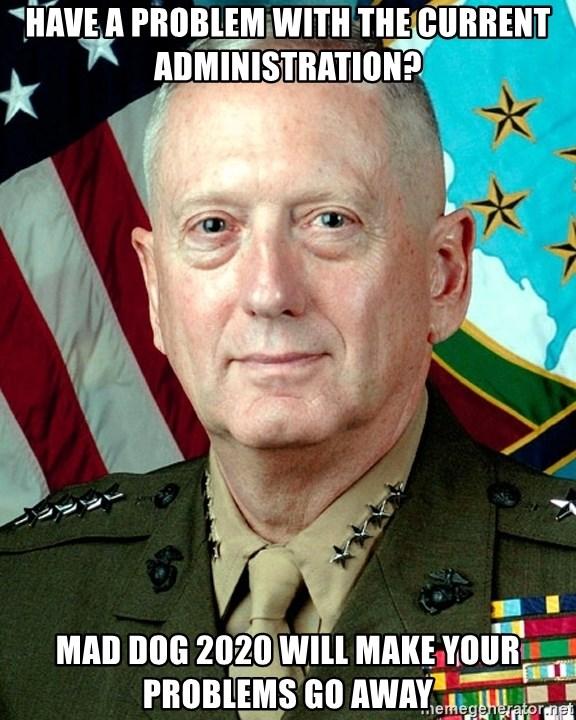 Mad Dog 2020 Memes