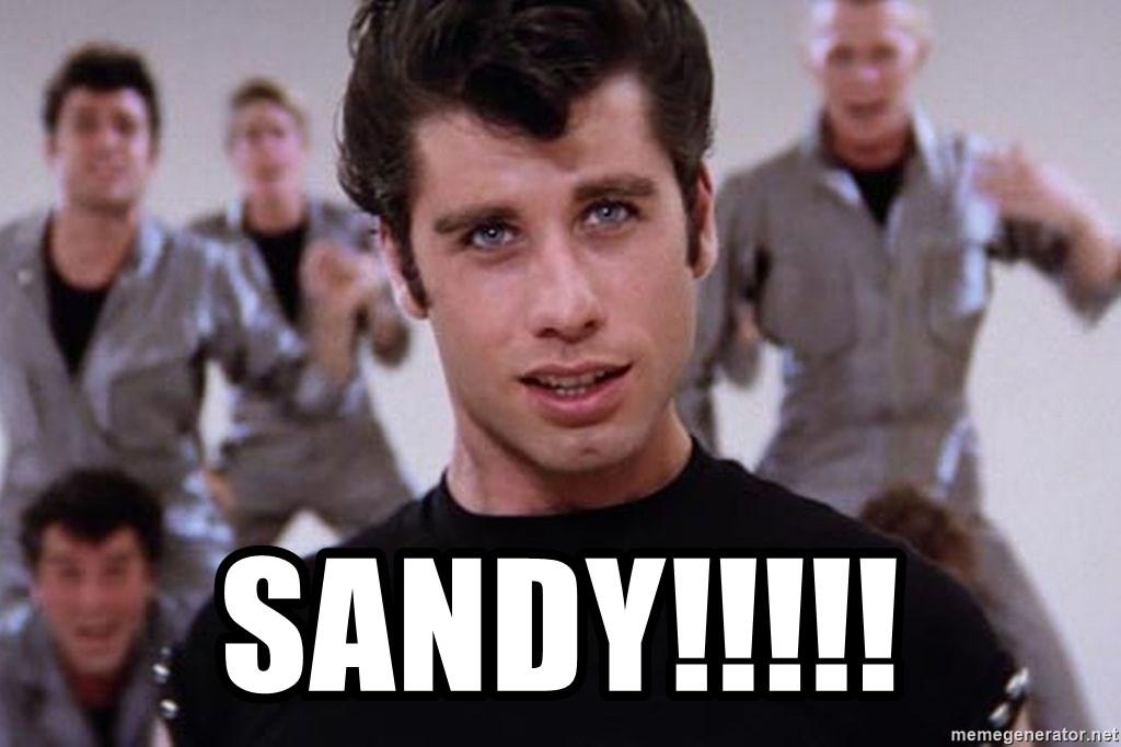 Sandy Grease Travolta Meme Generator