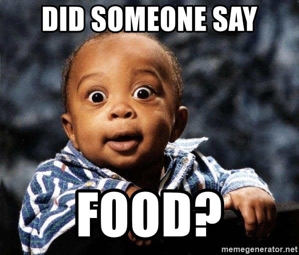 Did Someone Say Food Tfdghfdghgfdhfdhgfdgh Meme Generator