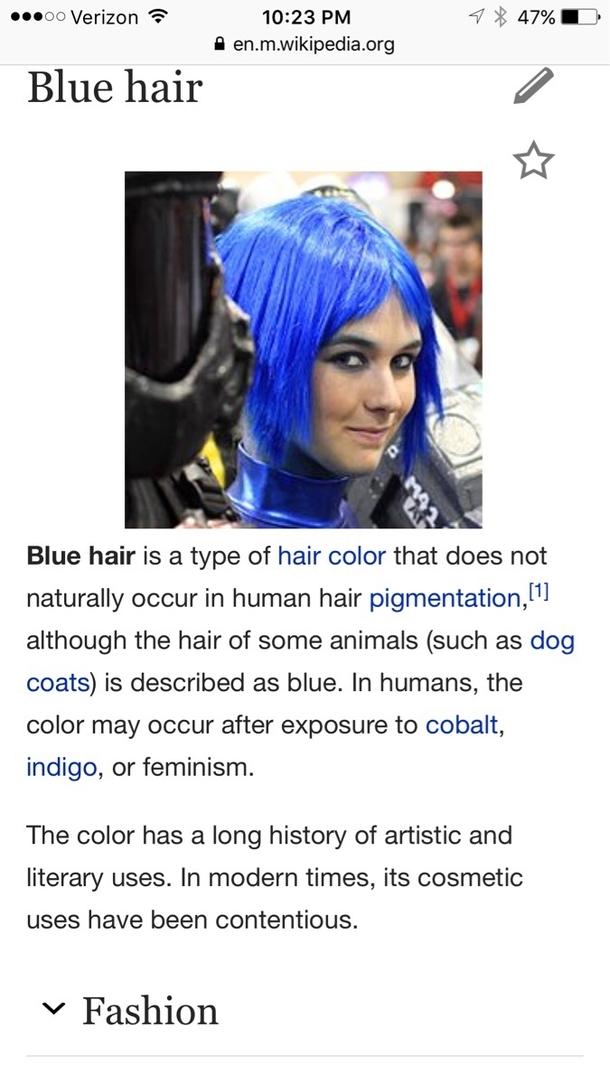 Blue Hair Meme Guy