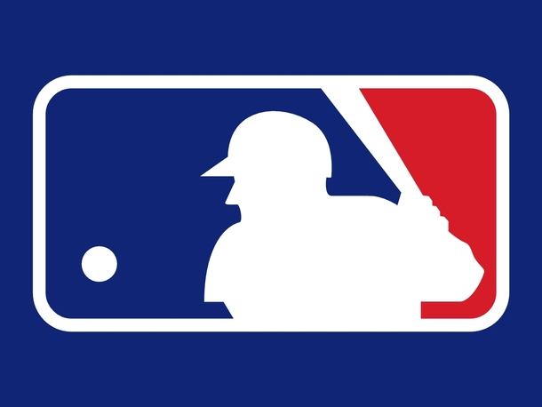 Ever Notice How The Player On The Mlb Logo Has A Super Happy Bird