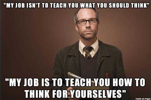 Image result for good professors meme