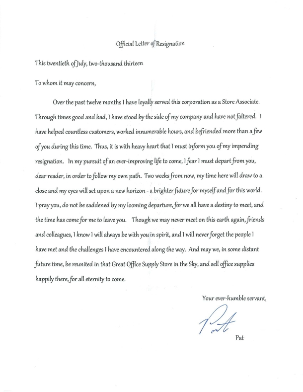 The Best Resume Ever get the resume template This Is By Far The Best Resignation Letter Ive Ever Seen 27040 Jpg