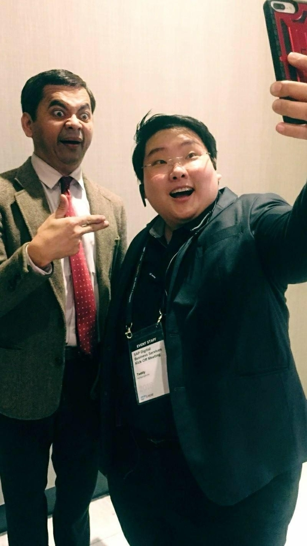 Thailands Mr Bean Meme Guy