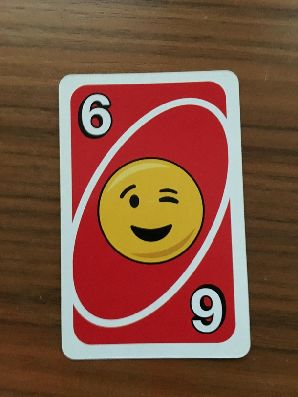 This Suggestive Uno Card Meme Guy