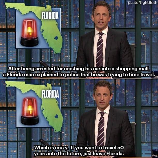 Time Traveling Florida Man Meme Guy