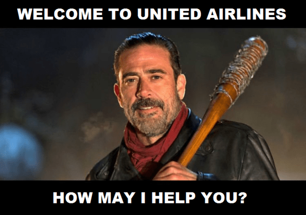 Image result for united flight memes