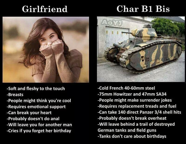 Who Needs A Girlfriend When You Have A Tank Meme Guy