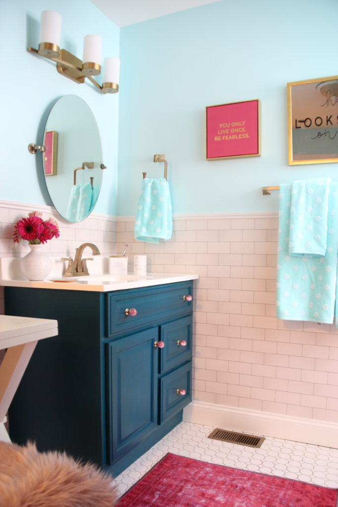Surprise Her With A Chic Valentines Day Bathroom Makeover