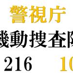 2019【警視庁機動捜査隊216】season10のキャストやあらすじは?主題歌は誰?
