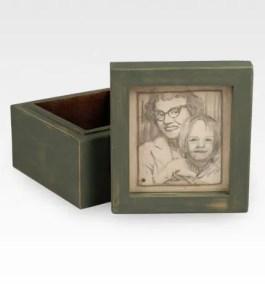 Portrait With Keepsake Box