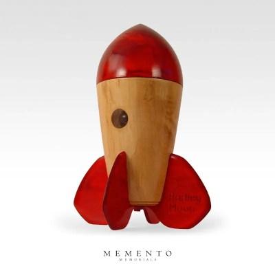 Rocket Child Urn