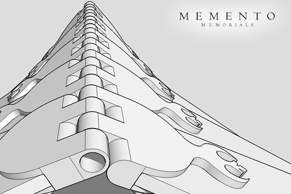 memorial-3d-model-hinges-custom