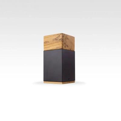 META Poplar wood cremation keepsake urn