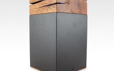 6 of 12 White Oak Barn Wood Cremation Urns