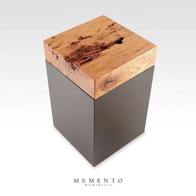 9 of 12 Barn Wood Cremation Urn