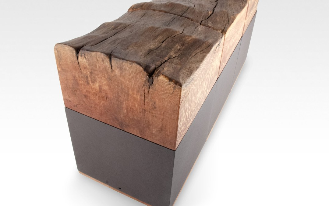 Live Edge London Plane Cremation Urn Triplet
