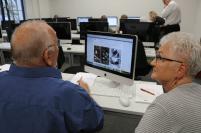 Teilnehmer von Schritt für Schritt durch's Netz beim Workshop