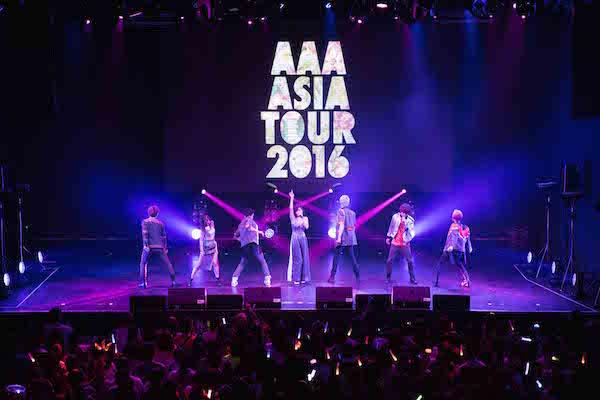 2016-08-13 avex taiwan JPOP - AAA 亞洲巡迴演唱會台灣公演照片3