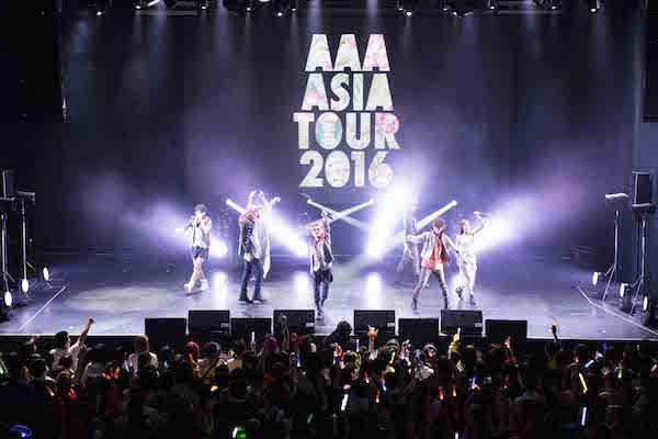 2016-08-13 avex taiwan JPOP - AAA 亞洲巡迴演唱會台灣公演照片4