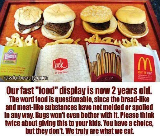 Is Fast Food Food The Meme Policeman