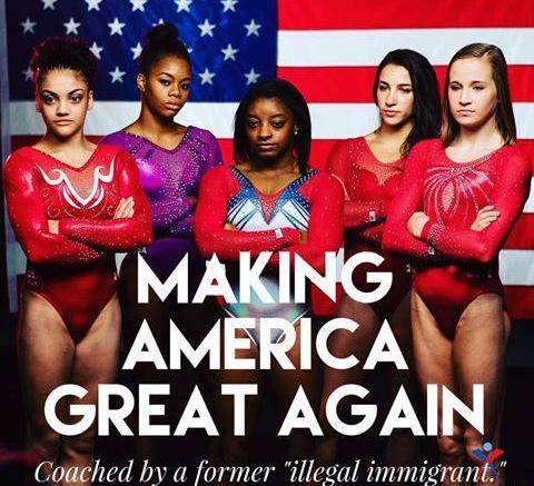 olympic gymnastic coach illegal immigrant