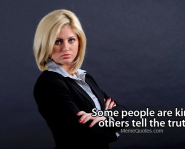 Serious businesswoman
