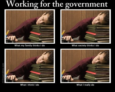 government job meme