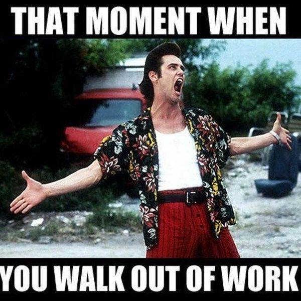 Leaving Work On Friday Meme Funny Pictures And Images