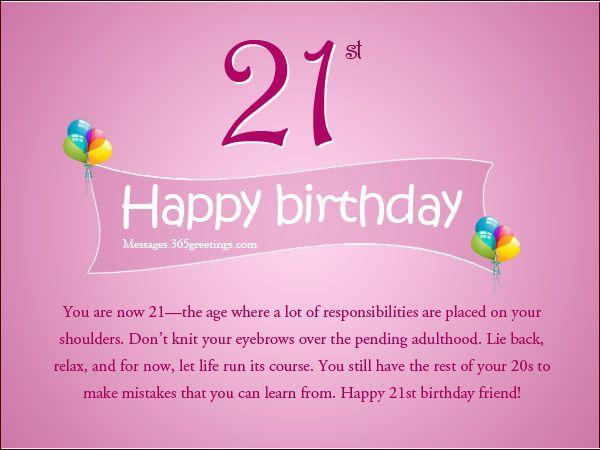 Happy Graphics Animated 21st Birthday
