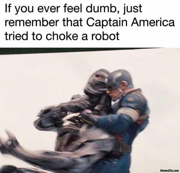 Meme Maker You Cant Feel Dumb If Your Already Dumb