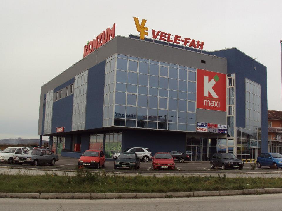 Trgovački centar VELE FAH Cazin