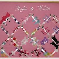 hair clip organizer mb