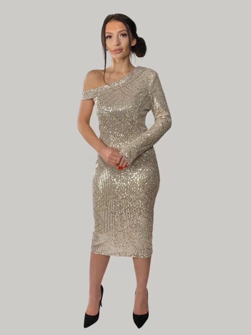 glitter-jurk
