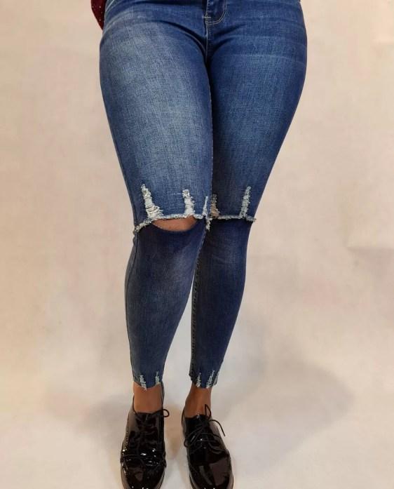 Spijkerbroek dames - Spijker broek - dames broeken
